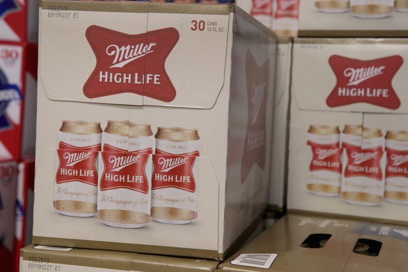 Miller High Life brewed by MillerCoors is a worthy tasting inexpensive beer.
