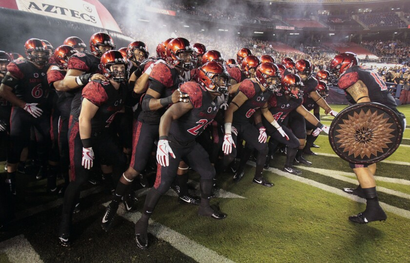 Aztecs will have two football games — including season opener