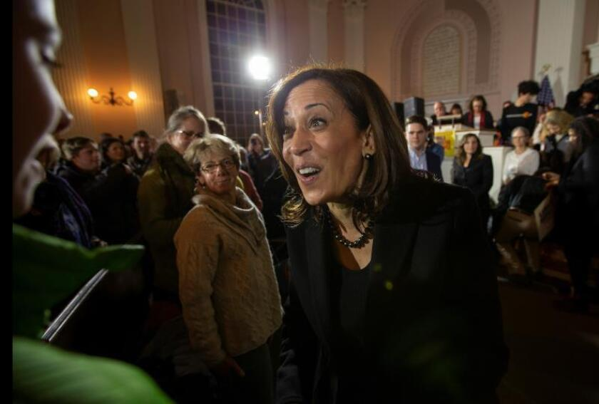 La senadora Kamala Harris propone legalizar la marihuana a nivel federal