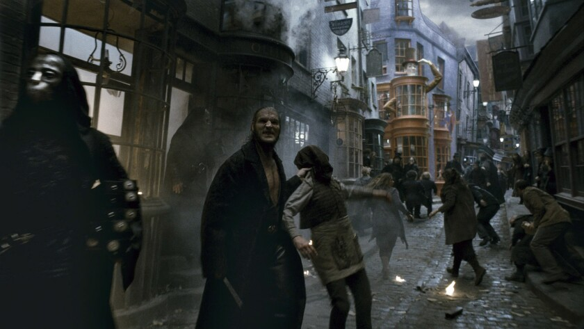 "David Legeno as Fenrir Greyback in ""Harry Potter and the Half-Blood Prince."" Legeno was found dead in Death Valley this week."