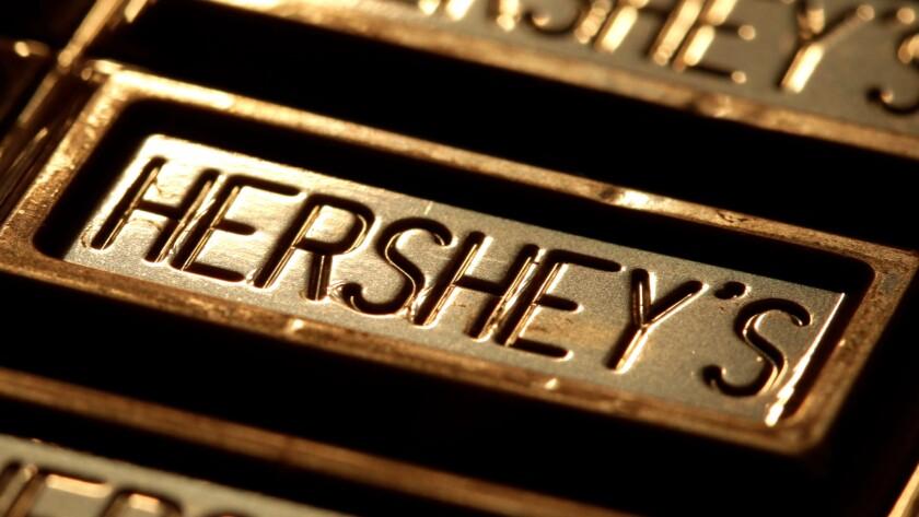 Hershey chocolate bar