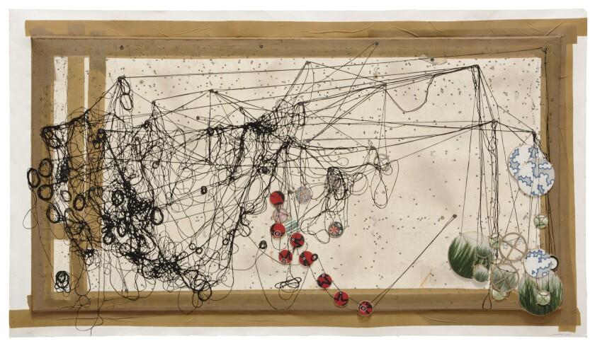 """Tracing the Ever-Fragile Balance of Dreamless Silence..."" by Jacob Hashimoto at Mixografia"