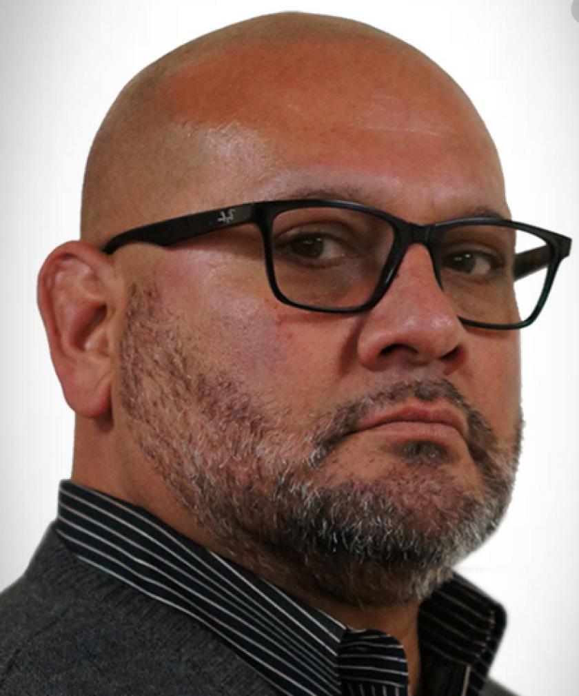 District Four City Council candidate Matthew Leyba-Gonzalez.
