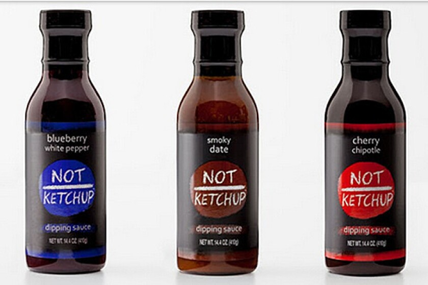 A new line of savory-sweet dipping sauces by Santa Monica food writer Erika Kerekes aims to break into the condiment market.