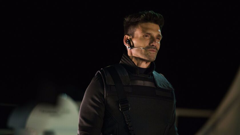From the movie Marvel's Captain America: The Winter Soldier..Brock Rumlow (Frank Grillo)..Ph: Zade R