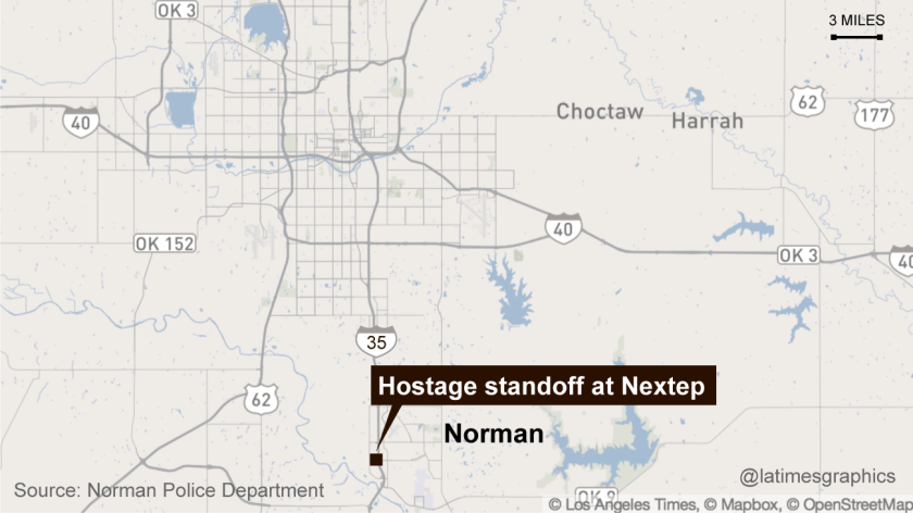 Hostage standoff in Oklahoma
