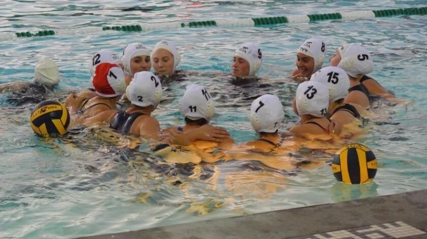 San Dieguito girls water polo