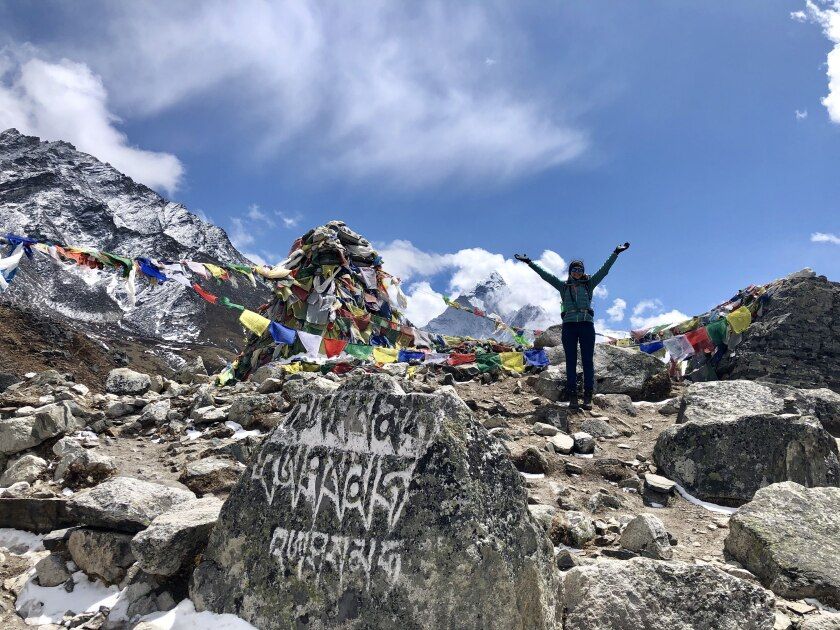 Cancer researcher treks to Everest in sister's memory - The San Diego Union-Tribune