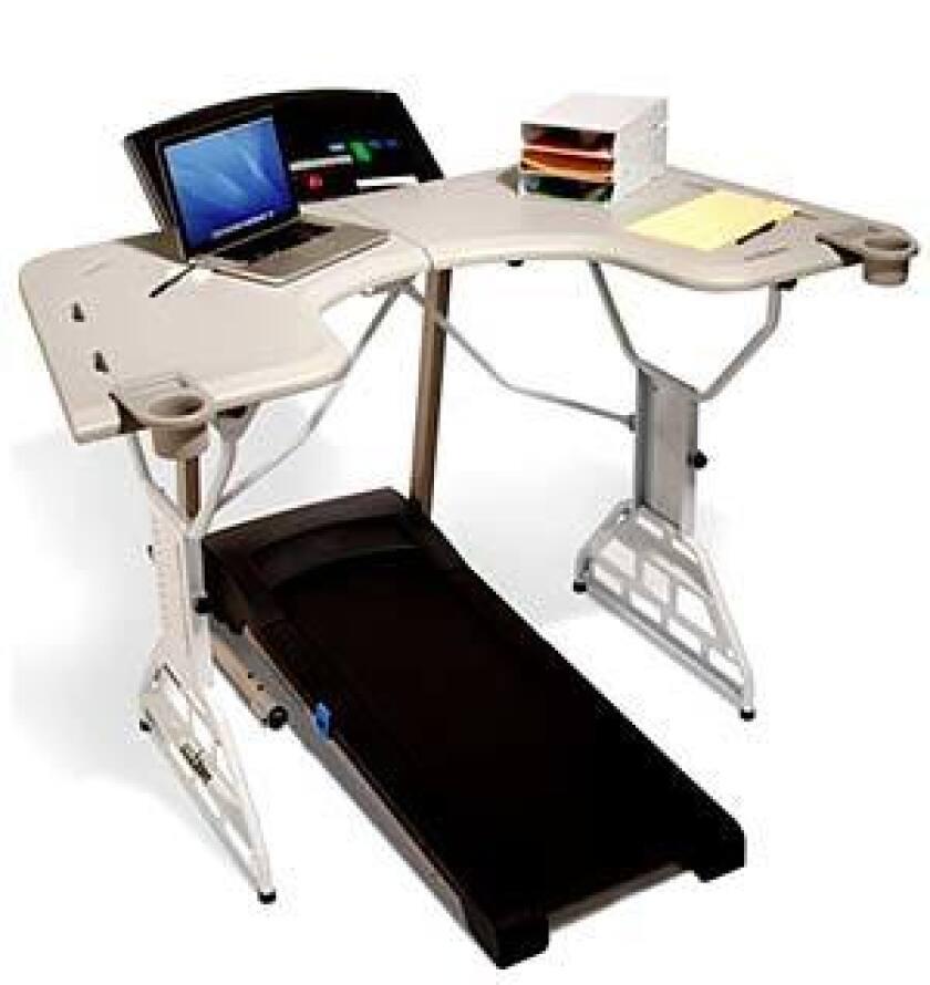 Photo: TrekDesk Treadmill Desk