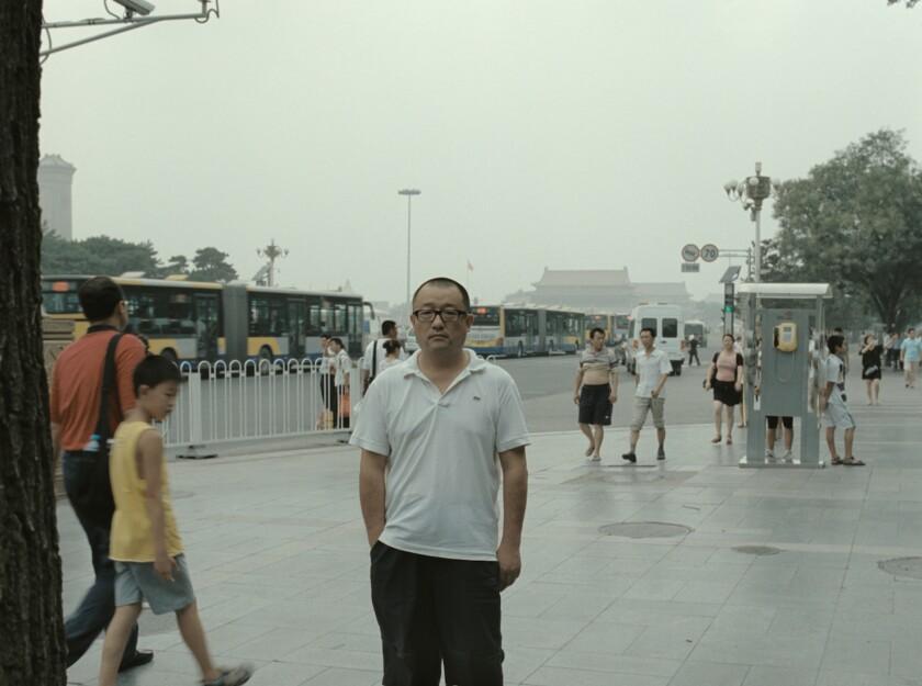 Filmmaker Wang Xiaoshuai in his documentary 'Chinese Portrait'