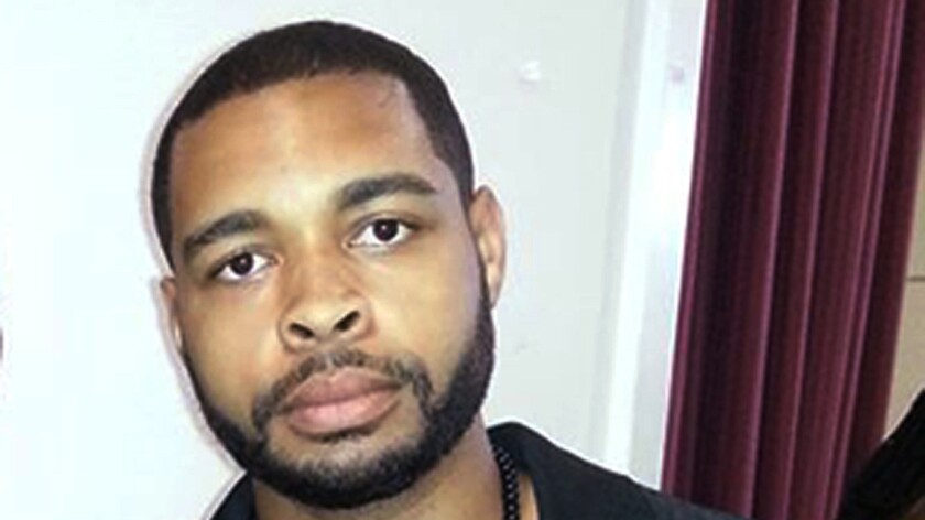 An undated photo posted on Facebook on April 30, 2016, shows Micah Johnson, suspected of the sniper slayings of five law enforcement officers in Dallas on July 7, 2016.