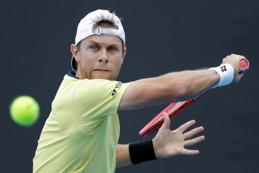 En la imagen, el tenista moldavo Radu Albot. EFE/Archivo