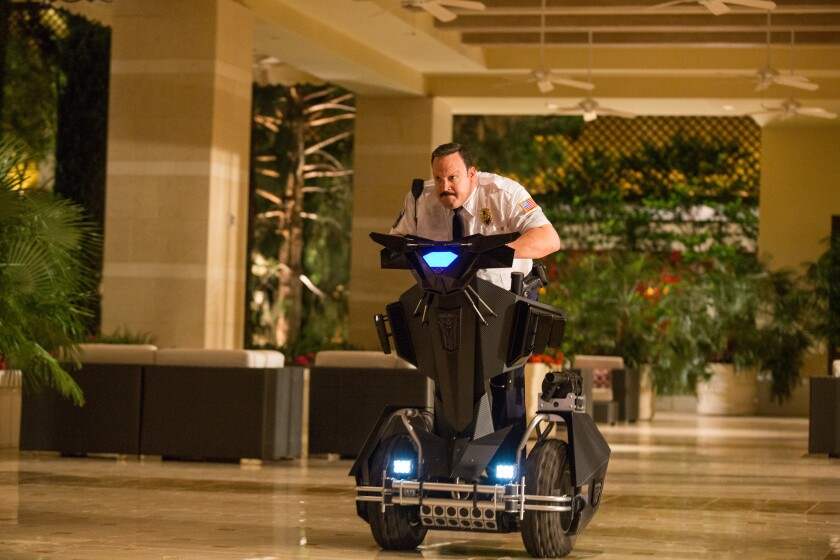 """Kevin James in a scene from """"Paul Blart: Mall Cop 2."""""""