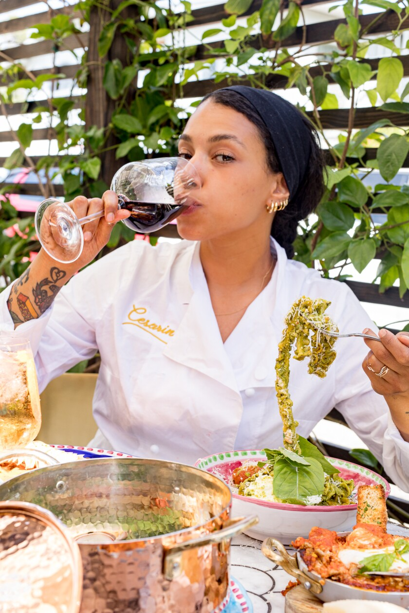 """Cesarina restaurant chef Cesarina Mezzoni recently competed on """"Chopped Next Gen."""""""