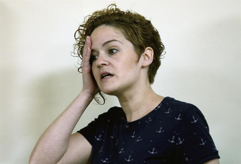 Fotografía de Raquel Garrido, hermana de la fallecida, Pilar Garrido. EFE/Archivo
