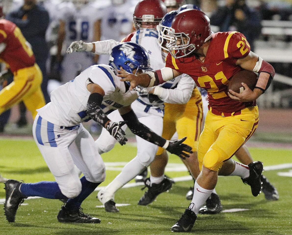 Photo Gallery: La Canada vs. San Marino in Rio Hondo League football
