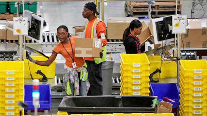 Driven by logistics, Inland Empire enjoys job surge