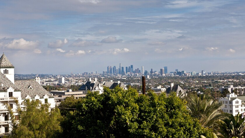 One of the selling points of Hollywood Hills West is that it's centrally located between downtown an