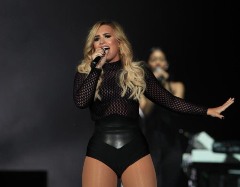 La cantante estadounidense Demi Lovato. EFE/Archivo