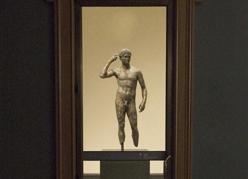 Editorial: Sorry, Italy, the 'Getty Bronze' belongs in L.A.