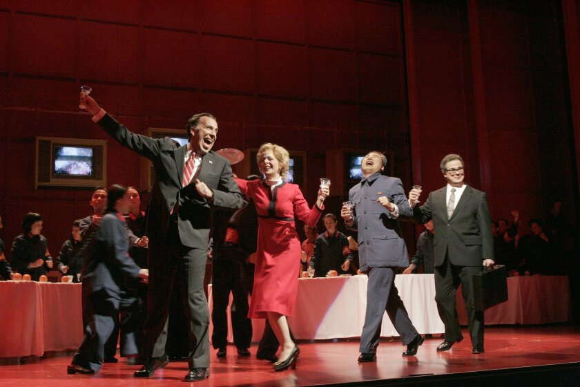 """""""Nixon in China"""" by John Adams, will be performed March 14, 17, 20 and 22, 2015 at San Diego Civic Theatre."""