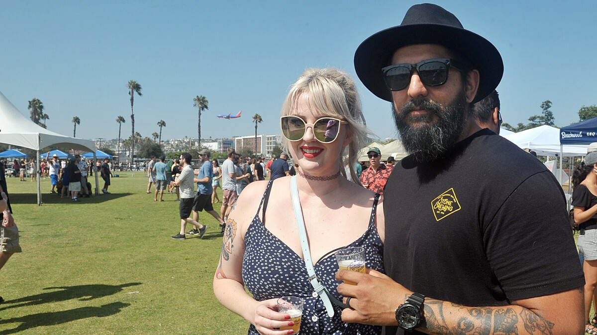 The beer wizards at Modern Times Beer presented the Fourth annual Festival of Dankness, a celebration of San Diego's finest brews, at Waterfront Park on Saturday, Aug. 25, 2018.