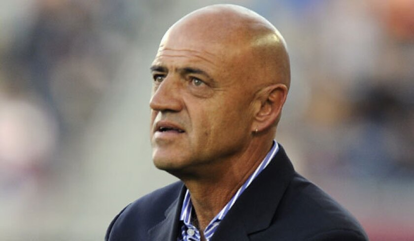 Chivas USA fired its manager, José Luis Sánchez Solá, on Wednesday.