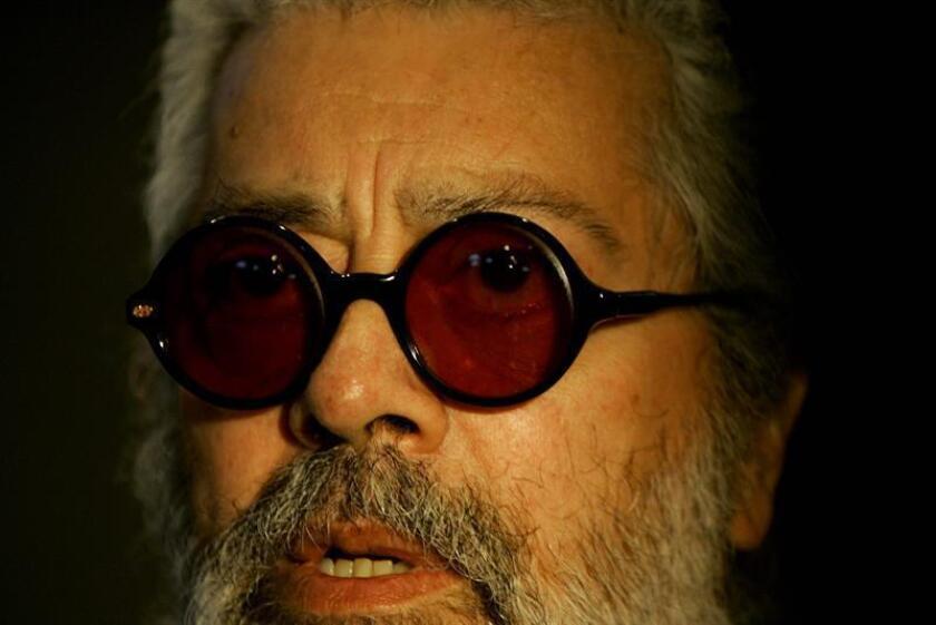 Fotografía de archivo del cantautor argentino Facundo Cabral. EFE/Archivo