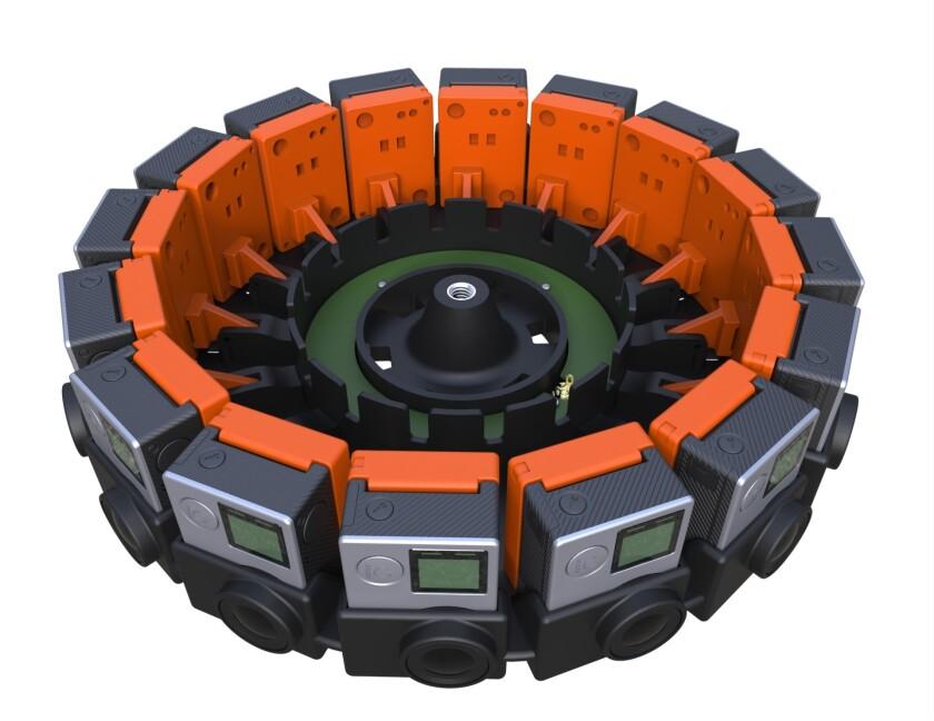 GoPro array rig
