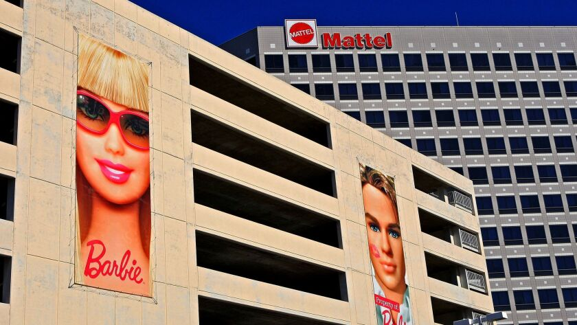 Mattel Inc. offices in El Segundo