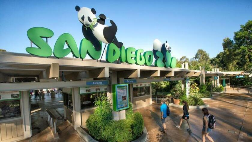 San Diego Zoo Entrance (Courtesy photo)