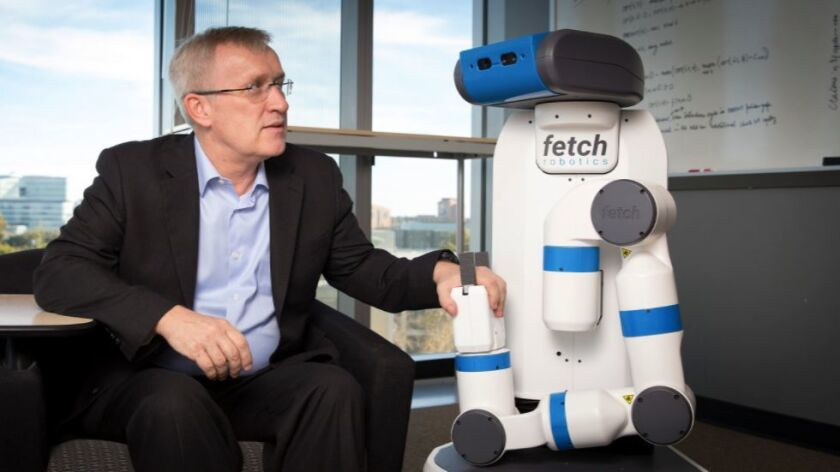 Henrik Christensen of UC San Diego's Contextual Robotic Institute will host a symposium about the fu