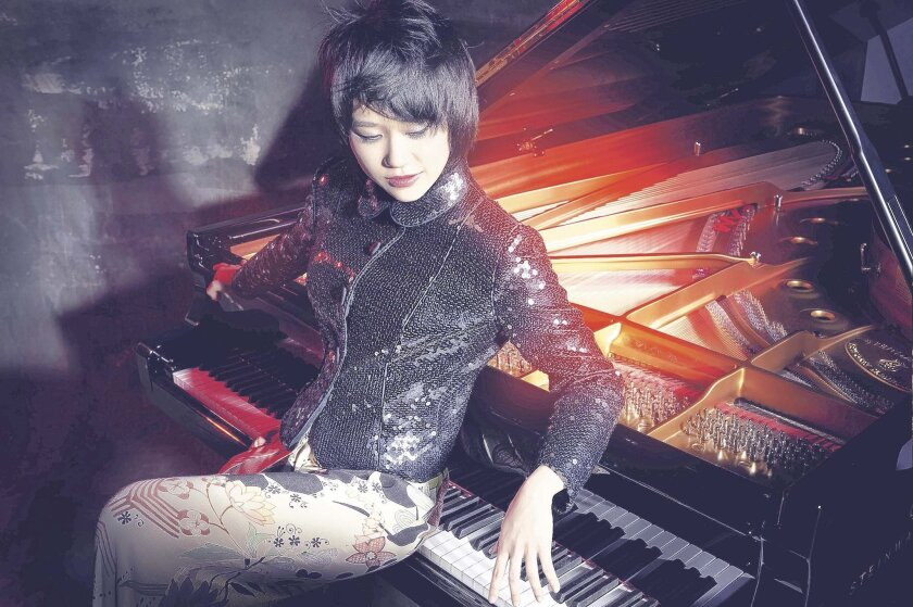 Yuja Wang is the soloist in the San Diego Symphony's season-opening concerts Oct. 9-11 at Jacobs Music Center.