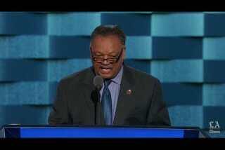 Watch Jesse Jackson speak at the Democratic National Convention
