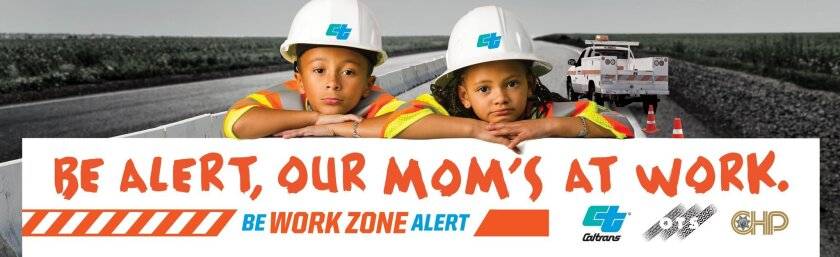 New Caltrans ads star highway workers' children - The San