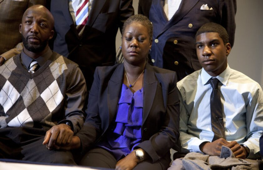 Trayvon Martin family: 'Thank God' for charges against Zimmerman