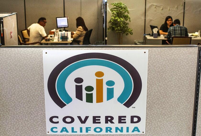 Logo de Covered California.