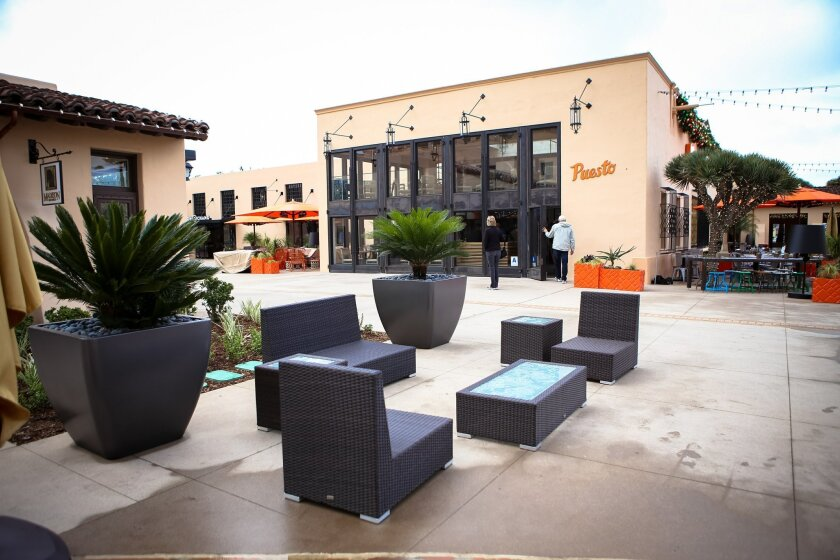 The Headquarters at Seaport District is one of San Diego's newest retail centers, with an eclectic mix of restaurants, work space and boutique retailers. Real estate experts say it's becoming more common for developers in Southern California to blend their retail offerings to get and keep shoppers