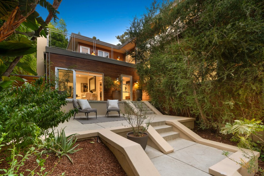 Josh Lucas' Hollywood Hills home