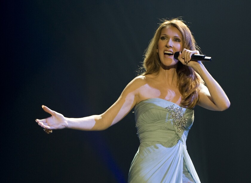 """Celine Dion fans can be part of her show by submitting videos that synch with her hit """"I Drove All Night."""""""
