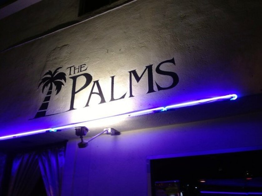 The Palms bar in West Hollywood