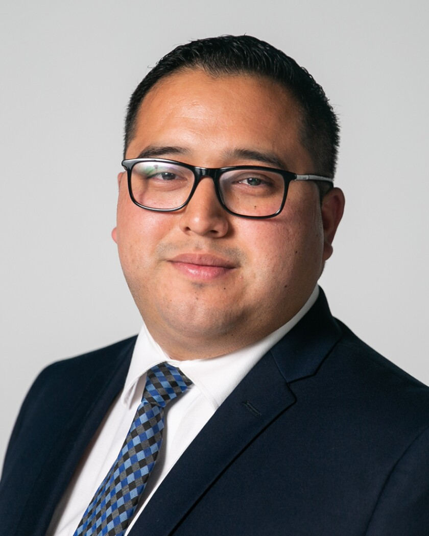 Kelvin Barrios, a candidate for the San Diego City Council in District 9