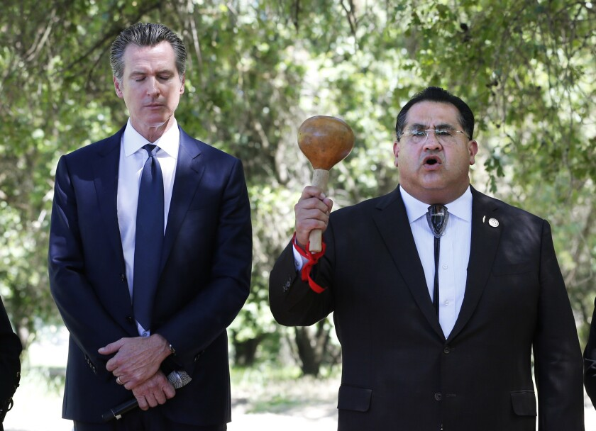 Gavin Newsom, James Ramos