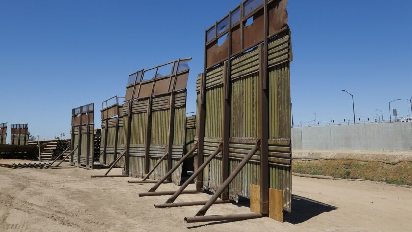 As construction of the new fence along the U.S. Border in Calexico and Mexicali is done, the old bor
