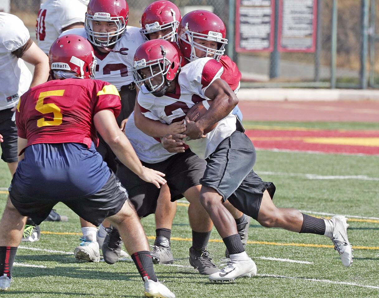 Photo Gallery: Glendale Community College football practice