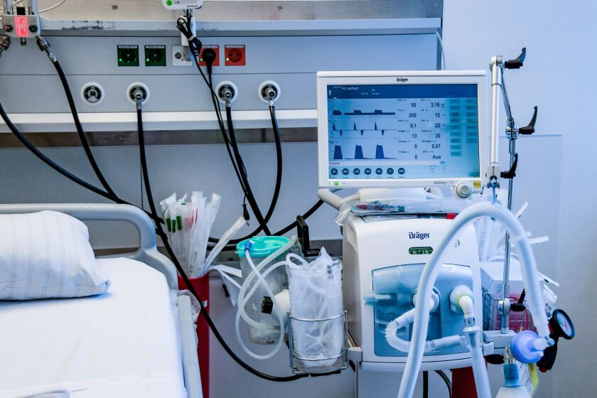 A critical shortage of mechanical ventilators has researchers scrambling for other treatments for COVID-19 patients.