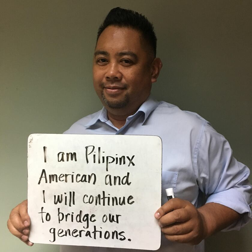 John Swing worked with multiple community organizations serving the Filipino American community.
