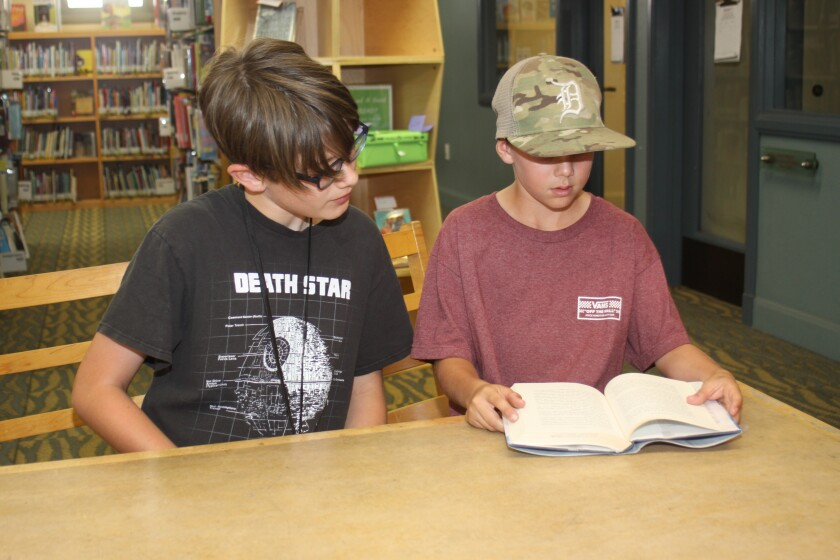 Just in time for the La Jolla Library's summer reading program — and to help prevent the summer slump — the Reading Buddies program is back, starting 4 p.m. Monday June 17 at 7555 Draper Ave.