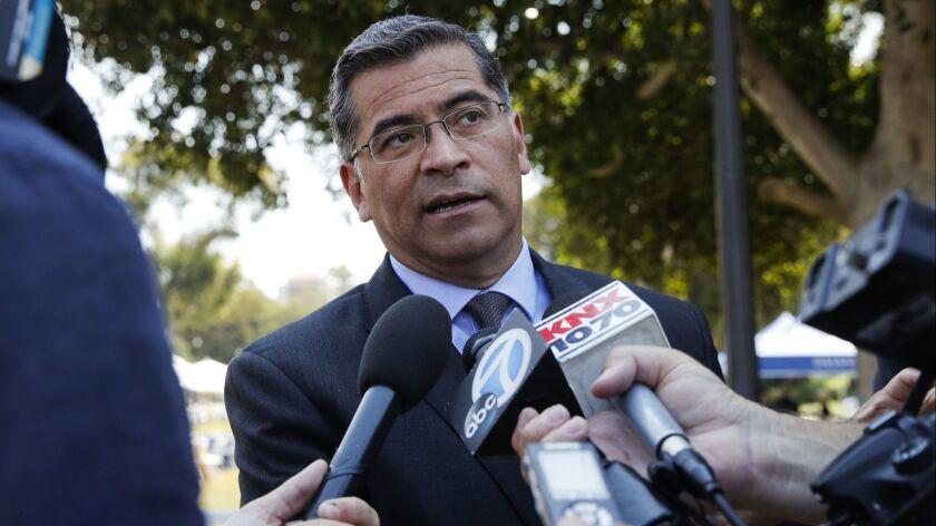 Harris' successor, Atty. Gen. Xavier Becerra, has repeatedly refused to discuss the case.