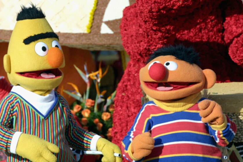 "Mark Saltzman says he considered Bert and Ernie to be a gay couple when he wrote for ""Sesame Street."""
